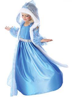 Girl's Winter Princess Costume