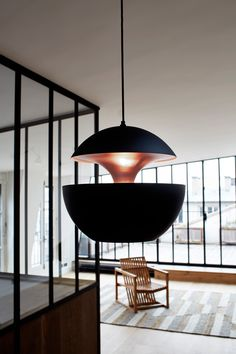Here Comes the Sun pendant lamp designed by Bertrand Balas in 1970, edited by DCW éditions