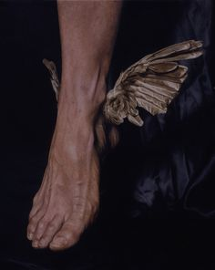 The winged sandals worn by Mercury alias Hermes was called Talaria. It comes from the Latin word 'talaris' which means belonging to the ankle.