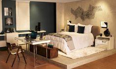 Decoração de quartos de casal com Blog Decoração Interiores -> http://www.blogsdecor.com/decoracaointeriores/decoracao-de-quartos-de-casal/ #decoracion #decor #decoracao #room #casal #interiores #quartos