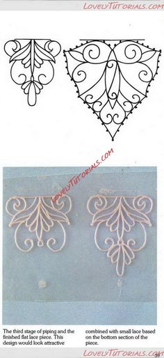 для украшения глазурью -royal icing,filigree templates - Мастер-классы по украшению тортов Cake Decorating Tutorials (How To's) Tortas Paso a Paso Royal Icing Cake, Royal Icing Piping, Cake Icing, Icing Frosting, Cupcake Cakes, Frosting Tips, Royal Icing Templates, Royal Icing Transfers, Cake Templates