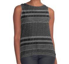 'White Dot Square Pattern' Leggings by Best Tank Tops, Long Hoodie, Crocs, Chiffon Tops, Crochet Top, Classic T Shirts, Mini Skirts, Vest, Leggings