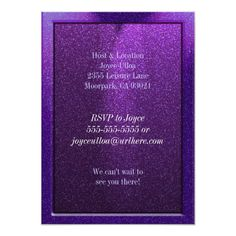 Shop Sparkle Pink Birthday Party Invitations created by youreinvited. Spa Birthday Parties, Birthday Party Celebration, Pink Invitations, Birthday Party Invitations, Milestone Birthdays, First Birthdays, Twenty First Birthday, Professional Business Card Design, Purple Birthday