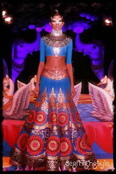 Manish Arora bridal 2013