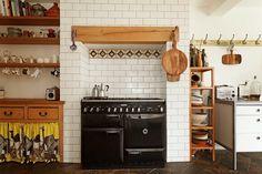 23 Fascinating Smeg Range Cooker John Lewis Range Cooker In Island Old Kitchen, Kitchen Tiles, Kitchen Dining, Kitchen Pantry, Kitchen Stuff, Dining Rooms, Kitchen Decor, Cooker In Chimney Breast, Bohemian Kitchen