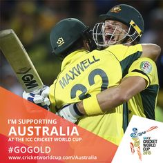 Shane Watson & Glenn Maxwell after the win in QF. Shane Watson, Glenn Maxwell, Icc Cricket, Cricket World Cup, Football Helmets, Baseball Cards, Sports, Hs Sports, Sport
