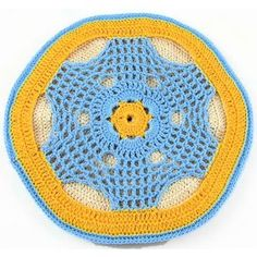 Lacy Thread Potholder - A free Crochet pattern from Julie A Bolduc.