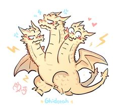 Godzilla, Japanese Monster, Dragon Memes, Chibi, How To Train Dragon, Dibujos Cute, Cute Dragons, Wallpaper Iphone Cute, Cute Art