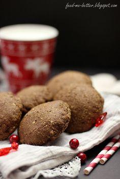 Feed Me Better: Pełnoziarniste nadziewane pierniczki. Ale, I Am Awesome, Wellness, Cookies, Desserts, Food, Beer, Meal, Ale Beer
