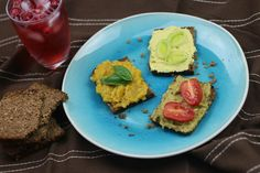 Plant Based Eating, Avocado Toast, Tofu, Vegan Recipes, Cooking, Breakfast, Ethnic Recipes, Youtube, Blue