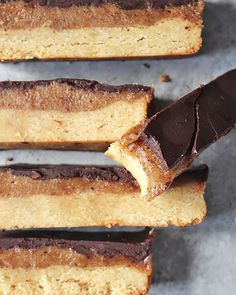 Homemade Twix Bars