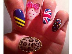 Spice up your nail inspiration #nailart #spicegirls