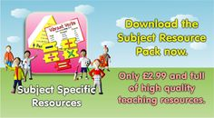Get all of our resources to support your English, Maths, Science and French teaching in one go.  www.teachingessentials.co.uk/store.html