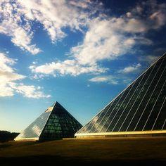 The Muttart Conservatory in Edmonton, Alberta #yeg #alberta