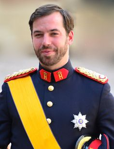 Prince Guillaume, Hereditary Grand Duke of Luxembourg (given names: Guillaume Jean Joseph Marie; born 11 November has been heir apparent to the crown of Luxembourg since his father's accession in Nassau, Prince Héritier, Royal Prince, Princesa Victoria, Princess Sophia, Handsome Prince, Grand Duke, New Boyfriend, Royal House