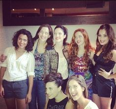 Naty,Esmeralda,Francesca,Camila,Lara,Jade,Angie.