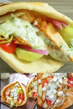 If you haven't tried a homemade Chicken Gyro yet, you are missing out! Fresh vegetables, tender chicken, tzatziki sauce, and feta cheese make an unforgettable combination! Chicken Gyro Recipe, Chicken Gyros, Chicken Souvlaki Pita, Lamb Gyro Recipe, Greek Chicken Pita, Chicken Wrap Recipes, Greek Chicken Recipes, Chicken Wraps, Greek Recipes