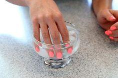 Быстрая сушка ногтей