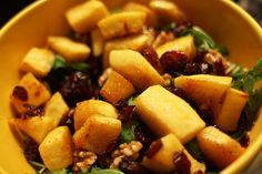 Bitches in the Kitchen: Roasted Butternut Squash Salad with Warm Cider Vinaigrette, via Bitches Who Brunch
