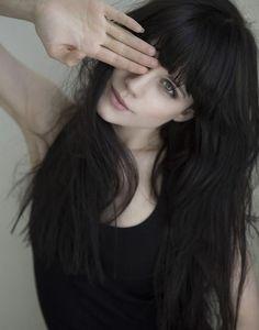 I love fringe and long hair