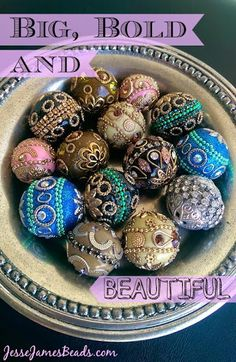 JJB's ELITE Single Beads Collection! Decked out and Dazzling Beads.
