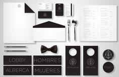Lovely branding!  Oculto   hotel & Resort by Andrea Rmz, via Behance