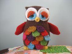 Mr. Hoot Amigurumi Owl Pattern.