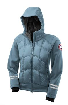 Canada Goose' Hybridge Lite Hoody - Women's Small - Urban Meadow