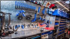 Our fully equipped velofix Mobile Bike Shops will give you more time to do what you love…Ride your Bike! Book a service and we guarantee satisfaction. Bicycle Garage, Bicycle Store, Mobile Workshop, Mobile Mechanic, Man Shed, Park Tool, Mechanic Garage, Bike Tools, Mobile Shop
