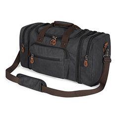 Travel Luggage Duffle Bag Lightweight Portable Handbag Bear Fox Pattern Large Capacity Waterproof Foldable Storage Tote