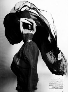 Candice Swanepoel, photo by Karl Lagerfeld, US Harper's Bazaar, 2011