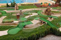 Mini-golf Field Stock Photos - Image: 15142373