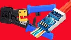 ez rj45 crimper RJ45 crimping tool hand network tool kit for cat6 cat5 cat5e rj45 rj11 connector 8P 6P lan Cable Wires pliers-Networking Tools Network Tools, Cable Wire, Crimping, Tool Kit, Top, Crop Shirt, Shirts