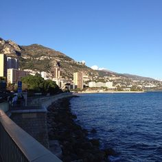 #PortHercule MonteCarlo sunny Thursday the 19th of February.☀️ by le.dmonaco.fr.milano from #Montecarlo #Monaco