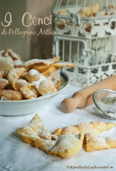 Ricette di Cultura: Bugie, italian fried sweet pastry