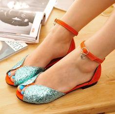 ENMAYER 2014 female Fashion woman flats women sandals and women's spring summer shoes $44.63