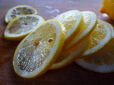 Freezing Fresh Lemon Slices, Lemon Juice and Lemon Zest