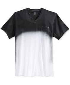 INC International Concepts Men s Kenny Spray-Print V-Neck T-Shirt 1e9b441d377e