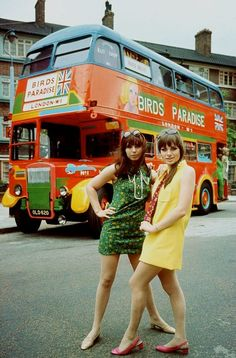 1968. 'Birds Paradise' mobile boutique