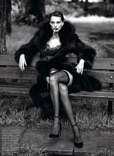 Daria Werbory by Mert & Marcus for Vogue Paris, September 2012.