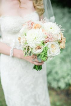 When it comes to planning your wedding, it's important to pick a style that ties everything together. This bride, who happens to work in the wedding industry knew exactly what she wanted 'romantic vintage' and she had just that. Captured by Corina V. Photography every beautiful detail of this wedding is done to perfection here! From the […]