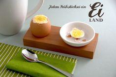 Eierbecher 4er  von klotzaufklotz auf DaWanda.com