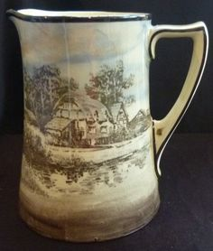 Royal Doulton Series Ware Corinth Jug - Countryside/Cottages