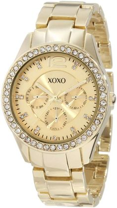 Shop XOXO Womens XO5475 Gold-Tone Rhinestones Accent Bezel Watch online at lowest price in india and purchase various collections of Casual Watches in XOXO brand at grabmore.in the best online shopping store in india