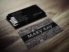 Makeup business card design for a mary kay rep expanding client base custom mary kay business card printing for mary kay independent beauty consultants fbccfo Choice Image