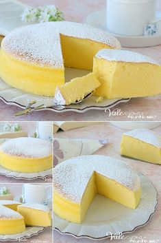 Italian Food on the Go Torta Kit Kat, Cotton Cheesecake, Cotton Cake, Confort Food, Biscotti, Cakes And More, Creative Food, Pumpkin Recipes, Cheesecake Recipes