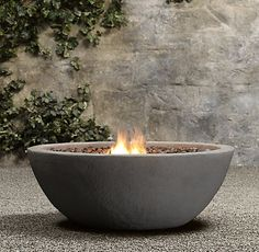 Restoration Hardware Look-Alikes: Save 950.00 @ Overstock vs Restoration Hardware Lava Rock Propane Fire Bowl