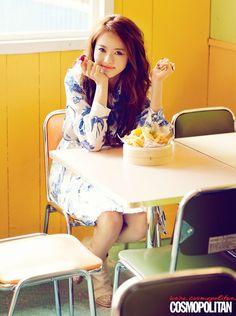 Go Ara // Cosmopolitan Korea // May 2013