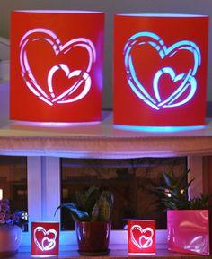 Valntine's Day LED Lantern, Night Lamp, Heart Shape LED Lamp, Paper Lantern http://www.bonanza.com/listings/LED-Lantern-Night-Lamp-Heart-Shape-LED-Lamp-Valentines-Lantern-Paper-Lantern/314286534