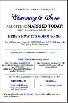 13 best order of service wording images on pinterest wedding order